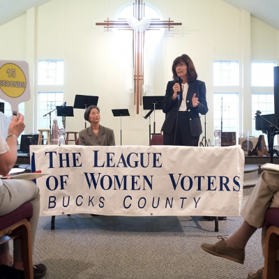 An unprecedented number of women are running for political office in Pennsylvania