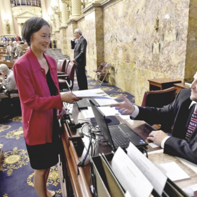 State Rep. Helen Tai introduces bill freezing pay for lawmakers who miss budget deadline